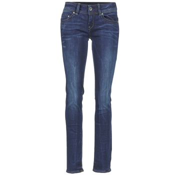 textil Mujer vaqueros rectos G-Star Raw MIDGE SADDLE MID STRAIGHT DENIM