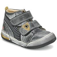 Zapatos Niño Botas de caña baja GBB NATHAN Gris / Amarillo