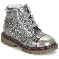 Zapatos Niña Botas de caña baja GBB NEVA Gris / Estampado