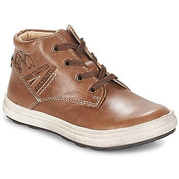 Zapatos Niño Zapatillas altas GBB NINO Marrón