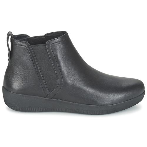 Baja Caña Boot Mujer Zapatos Fitflop Botas Superchelsea De Negro QdCoWreExB