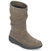 Zapatos Mujer Botas de caña baja FitFlop LOAF SLOUCHY KNEE BOOT SUEDE Topotea