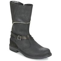 Zapatos Niña Botas urbanas Ikks FLORA Negro