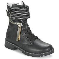 Zapatos Niña Botas de caña baja Ikks PEGGY Negro