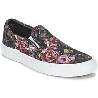 Zapatos Mujer Zapatillas altas Vans Classic Slip-On Negro