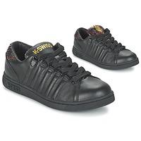 Zapatos Mujer Zapatillas bajas K-Swiss LOZAN TONGUE TWISTER Negro / Oro