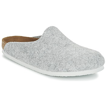 Zapatos Mujer Zuecos (Mules) Birkenstock AMSTERDAM Gris / Claro
