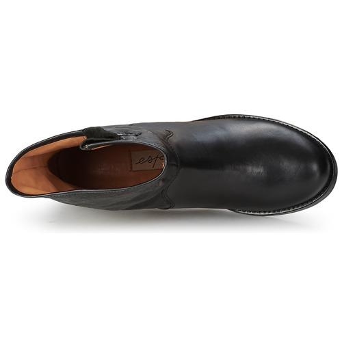 Mujer Botas Onagre Zapatos Espace Baja Negro De Caña GLzMqSUVp