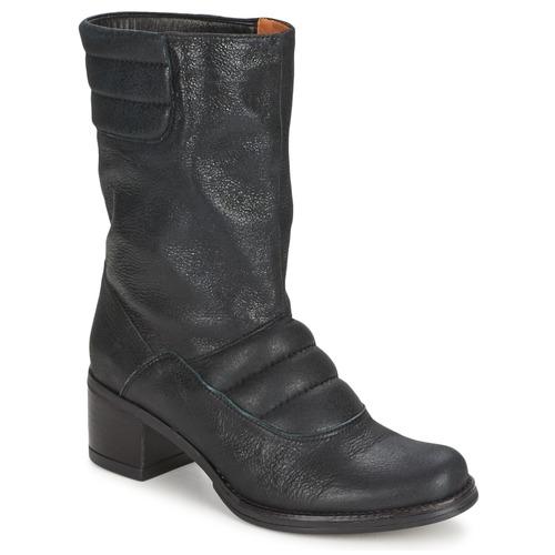 Zapatos De Botas Mujer Baja Caña Negro Espace Dorpin 5AL4Rj