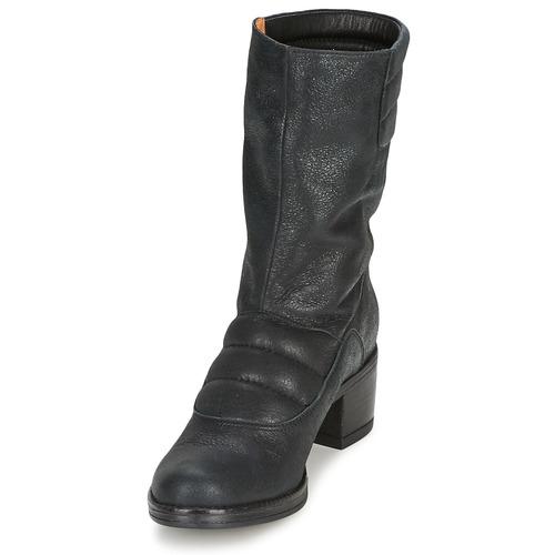Baja Caña Dorpin Espace Negro Mujer Zapatos De Botas yY7bfg6