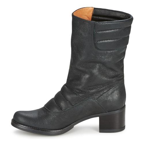 Zapatos Botas De Espace Negro Baja Mujer Caña Dorpin Rqcj54AL3S