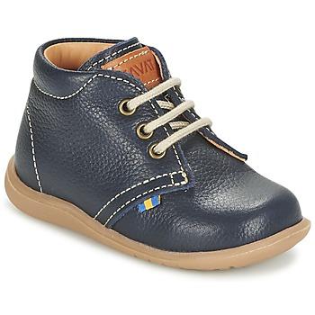 Zapatos Niño Botas de caña baja Kavat HAMMAR LACE Azul