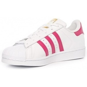 Zapatos Niña Zapatillas bajas adidas Originals adidas Superstar Foundation Junior