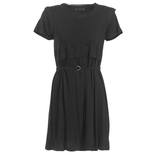 textil Mujer vestidos cortos Diesel D LETO Negro