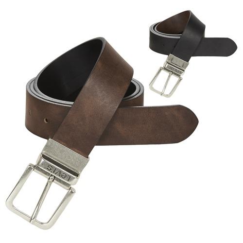 Accesorios textil Hombre Cinturones Levi's REVERSIBLE CORE Negro / Marrón