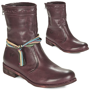 Zapatos Mujer Botas de caña baja Felmini BERTHA Burdeo