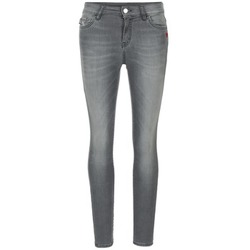 textil Mujer vaqueros slim Love Moschino MANI Gris
