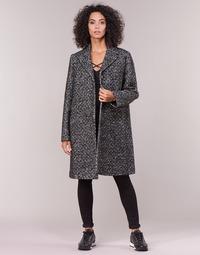 textil Mujer Abrigos Love Moschino MANSOI Gris