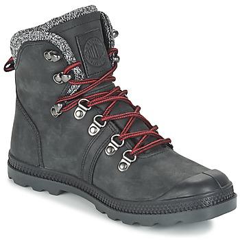 Zapatos Mujer Botas de caña baja Palladium PALLABROUSSE HIKING Negro