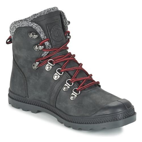 Cómodo y bien parecido Zapatos especiales Palladium PALLABROUSSE HIKING Negro