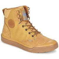 Zapatos Hombre Botas de caña baja Palladium PALLARUE WP Miel