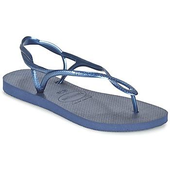 Zapatos Mujer Chanclas Havaianas LUNA Azul / Marino
