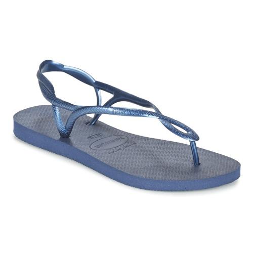 Havaianas LUNA Azul / Marino - Envío gratis | ! - Zapatos Chanclas Mujer