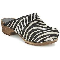 Zapatos Mujer Zuecos (Clogs) Sanita CAROLINE Cebra