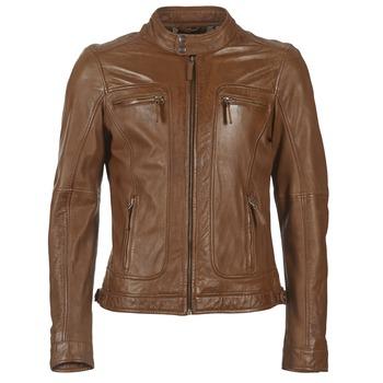 textil Hombre Chaquetas de cuero / Polipiel Oakwood 60901 Cognac