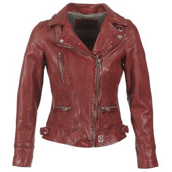 textil Mujer Chaquetas de cuero / Polipiel Oakwood 62065 Rojo
