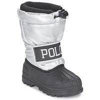 Zapatos Niña Botas de nieve Ralph Lauren JAKSON Plateado / Negro