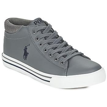 Zapatos Niño Zapatillas altas Ralph Lauren HARRISON MID Gris