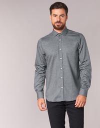 textil Hombre camisas manga larga Casual Attitude FOLI Gris