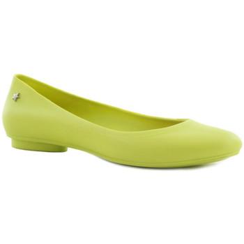 Zapatos Mujer Bailarinas-manoletinas Cubanas Sabrinas Salty100 Lime Amarillo