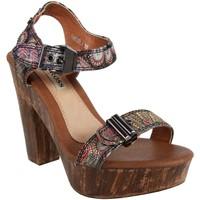 Zapatos Mujer Sandalias Jessy Ross FN820 Negro