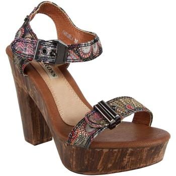 Zapatos Mujer Sandalias Jessy Ross FN820 BLACK Negro