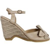 Zapatos Mujer Alpargatas MTNG 53292 Beige