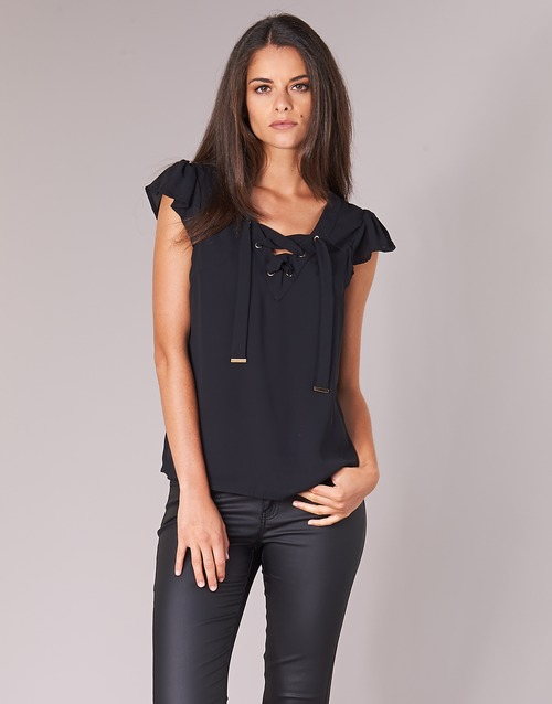 textil Mujer Tops / Blusas Moony Mood IFADOU Negro