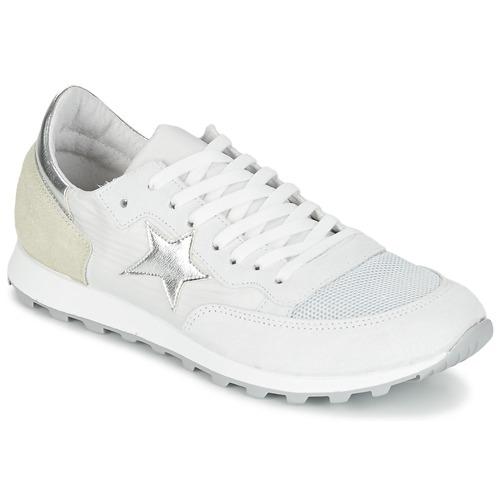 Zapatos Mujer Zapatillas bajas Yurban FILLIO Blanco / Beige