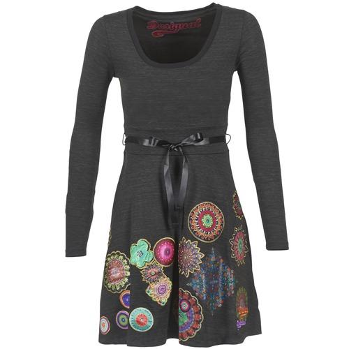 textil Mujer vestidos cortos Desigual RIDOUBA Gris