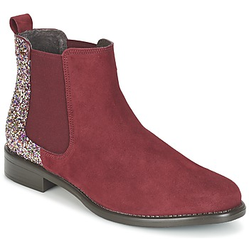 Zapatos Mujer Botas de caña baja Betty London FREMOUJE Burdeo