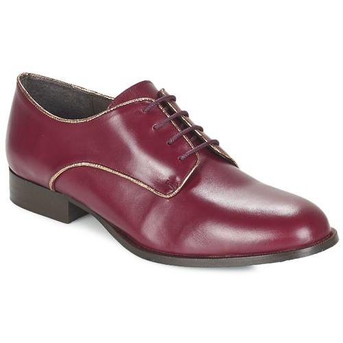 Zapatos Mujer Derbie Betty London FLOJE Burdeo