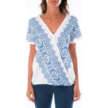 textil Mujer Tops / Blusas Jad Top Milan Blanc Blanco