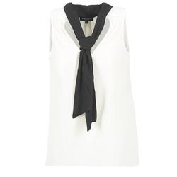 textil Mujer Tops / Blusas Morgan OREA Blanco / Negro
