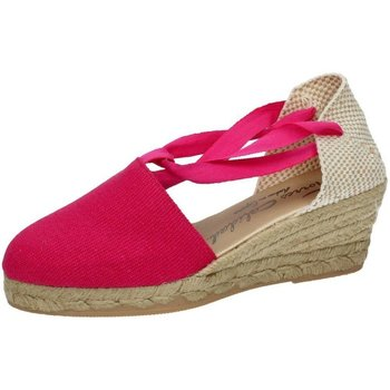 Zapatos Mujer Alpargatas Torres Valencianas fuxia