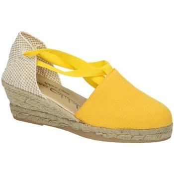 Zapatos Mujer Alpargatas Torres Valencianas amarilla Amarillo