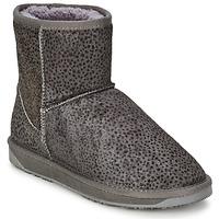 Zapatos Mujer Botas de caña baja Booroo MINNIE LEO Gris / Leo