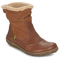 Zapatos Mujer Botas de caña baja El Naturalista NIDO Marrón