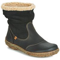 Zapatos Mujer Botas de caña baja El Naturalista NIDO Negro