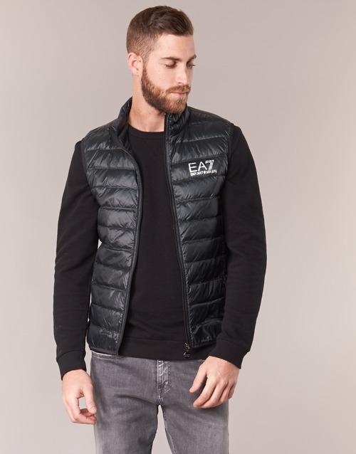 Textil Armani Emporio Negro Onafrato Hombre Plumas Ea7 FTlKc1J